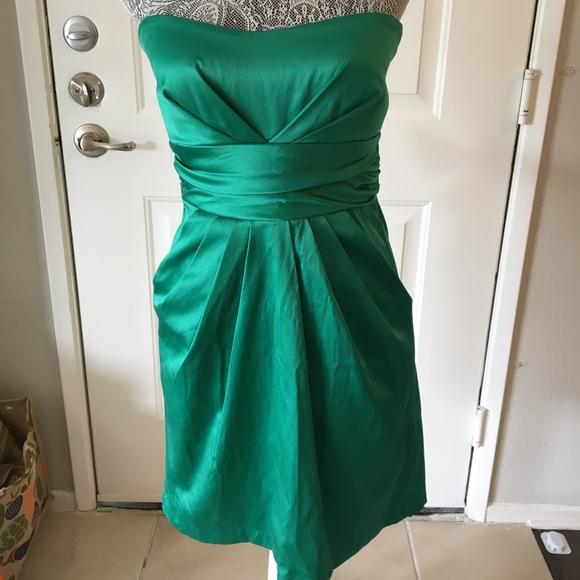 Dresses & Skirts | Jewel Toned Emerald Green Cocktail Dress | Poshmark